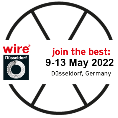 Dusseldorf exhibition 9th to 13th of May 2022